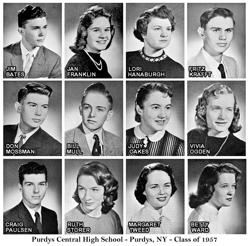 purdys central high school class of 1957