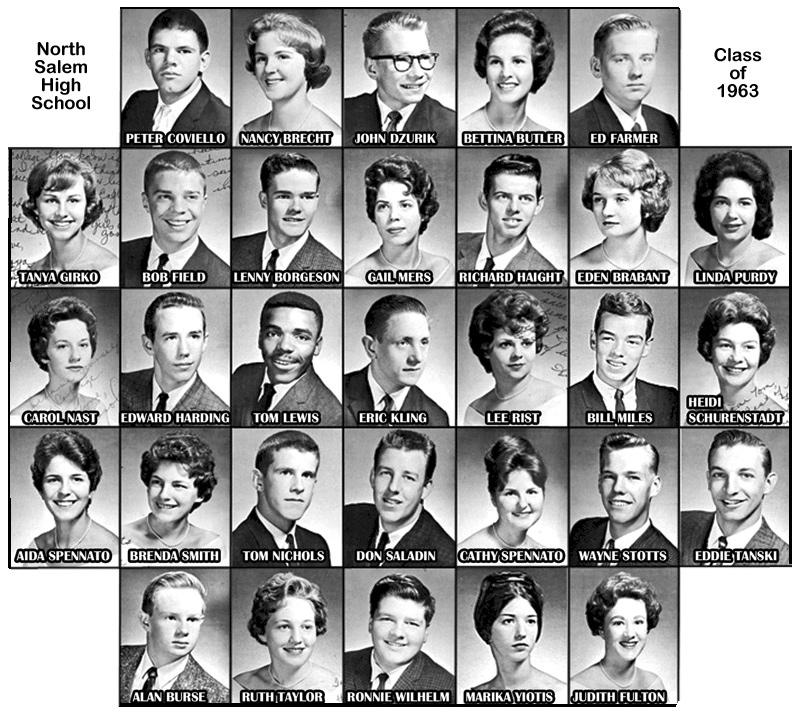 North Salem High School - Class of 1963
